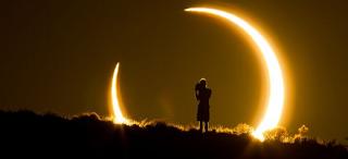 Υβριδική έκλειψη Ηλίου το μεσημέρι της Κυριακής: Πώς έβλεπαν οι αρχαίοι λαοί το φαινόμενο!