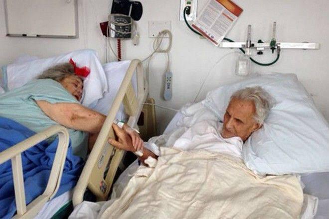 Μαζί μέχρι το τέλος: Κρατούνταν χέρι χέρι για 60 ολόκληρα χρόνια και πέθαναν με λίγες ώρες διαφορά…