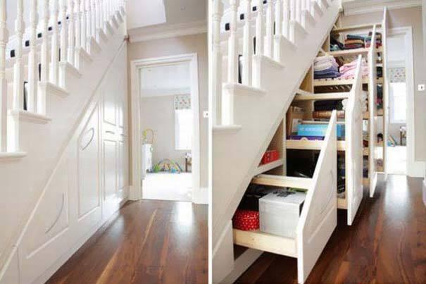 24 έξυπνες λύσεις για να  εκμεταλλευτείτε κάθε σπιθαμή του μικρού σας χώρου!