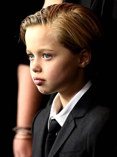 Η 8χρονη κόρη των Μπραντ Πιτ και Ατζελίνα Τζολί ξεπερνά σε ομορφιά ακόμη και τον μικρό Μπέκαμ!
