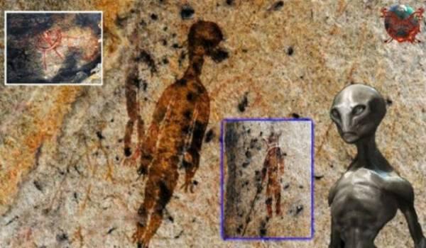 Βραχογραφίες 10.000 ετών «δείχνουν» εξωγήινους και ιπτάμενους δίσκους [Βίντεο]