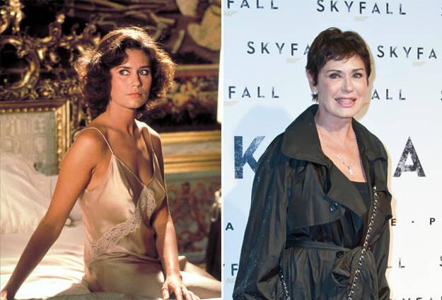 Bond Girls Then and Now 17 Ο χρόνος είναι αμείλικτος! Δείτε τα 31 κορίτσια του Τζέιμς Μποντ τότε και σήμερα