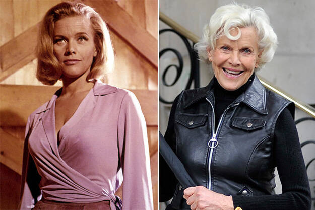 Bond Girls Then and Now 5 Ο χρόνος είναι αμείλικτος! Δείτε τα 31 κορίτσια του Τζέιμς Μποντ τότε και σήμερα