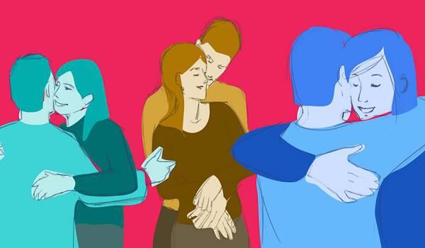 Ο τρόπος που αγκαλιάζετε κάποιον αποκαλύπτει πολλά για την σχέση σας