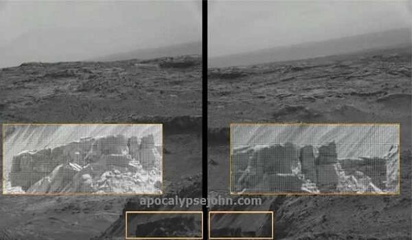 Τεχνητά τείχη στην επιφάνεια του πλανήτη Άρη; [Εικόνες]