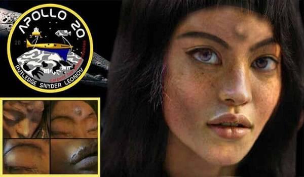 Επιχείριση Mona Lisa: Είναι αυτή η εξωγήινη γυναίκα που βρήκε η NASA στη Σελήνη; [Βίντεο]