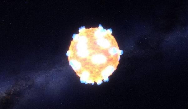 Μοναδικό: Η NASA κατέγραψε για πρώτη φορά την έκρηξη άστρου(ΒΙΝΤΕΟ)