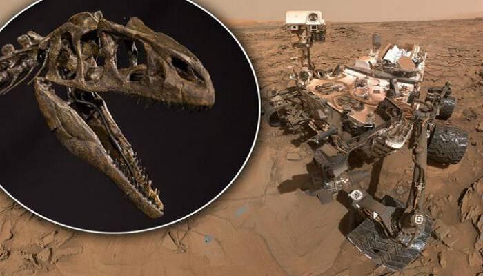 Απολιθωμένο κρανίο δεινοσαύρου στον πλανήτη Άρη; [Βίντεο]