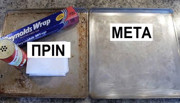 Φούρναρης αποκαλύπτει τον πιο αποτελεσματικό τρόπο για να καθαρίσεις καμένα λίπη από τα μαγειρικά σκεύη.