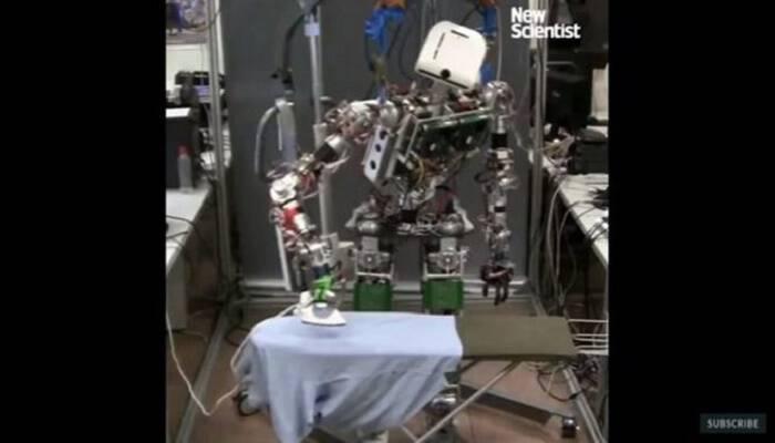 «Έρχεται» το ρομπότ που σιδερώνει και μας τρελαίνει!
