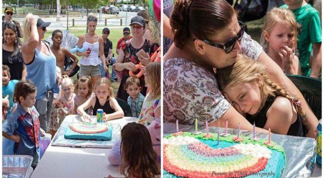 150 άγνωστοι άνθρωποι πήγαν στα γενέθλια αυτιστικού κοριτσιού όταν κάλεσε 15 φίλους της και εμφανίστηκαν μόνο δύο