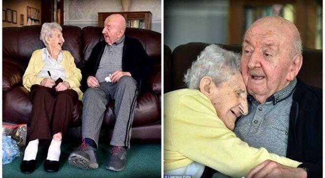 Ποτέ δεν σταματάς να είσαι μάνα! Μάνα 98 ετών μπαίνει σε γηροκομείο για να προσέχει τον 80χρονο γιο της