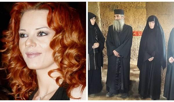 Ναταλία Λιονάκη: Νέες φωτο από την χειροτονία της ως μοναχή Φεβρωνία