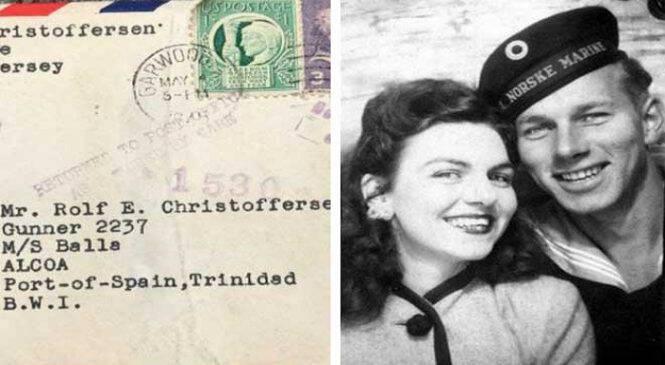 Το γράμμα που έκανε 7 δεκαετίες να φτάσει στον προορισμό του. Ο παραλήπτης ήταν 96 ετών και διάβασε τι του έγραφε η έγκυος αγαπημένη του