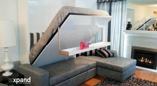 23 εξαιρετικές ιδέες για να εξοικονομήσετε χώρο σε ένα μικρό διαμέρισμα