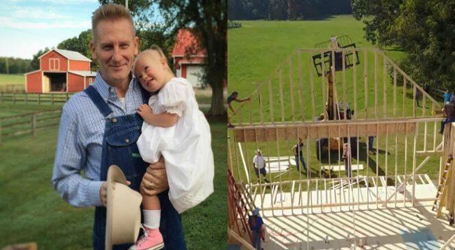 Πατέρας έφτιαξε ένα σχολείο για την κόρη του με ειδικές ανάγκες ώστε να εκπληρώσει το όνειρο της γυναίκας του που έφυγε από καρκίνο