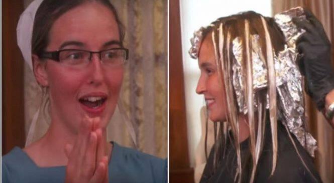 Κοπέλα από την χριστιανική αδελφότητα των Άμις αποφάσισε να αλλάξει εμφάνιση και το αποτέλεσμα μας άφησε έκπληκτους! (ΒΙΝΤΕΟ)