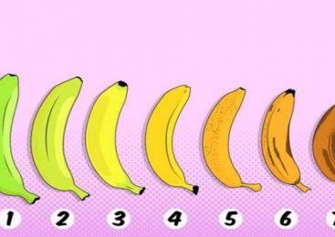 Η μπανάνα που θα διαλέξεις θα αποκαλύψει την κατάσταση της υγείας σου