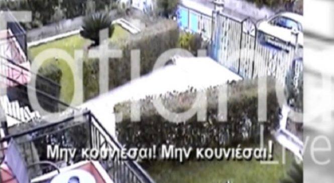 Βίντεο ντοκουμέντο: Η σύλληψη του δολοφόνου του Μιχάλη Ζαφειρόπουλου (ΒΙΝΤΕΟ)