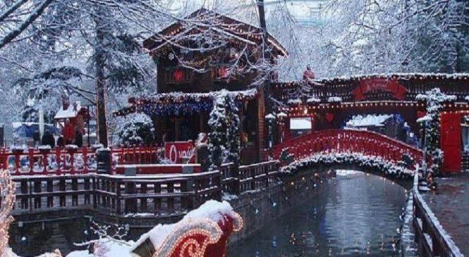 14 μαγευτικά χριστουγεννιάτικα πάρκα σε όλη την Ελλάδα