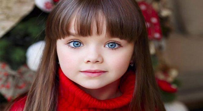Το ωραιότερο κοριτσάκι του πλανήτη είναι ένα 6χρονο από τη Ρωσία