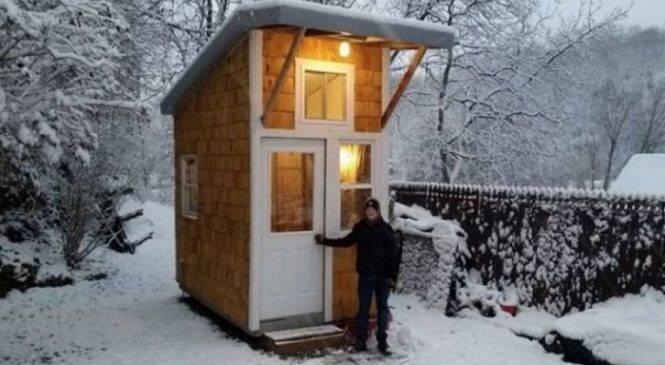 13χρονος έχτισε αυτό το μικροσκοπικό σπίτι, με μόλις 1.500€. Μόλις δείτε πως είναι από μέσα, θα «κλάψετε» από την ζήλια σας! (ΒΙΝΤΕΟ/ΦΩΤΟ)