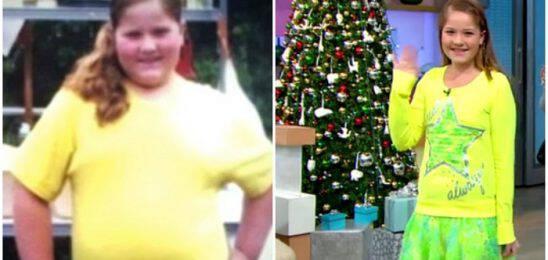 9χρονη παχύσαρκη δεχόταν bullying από τους συμμαθητές της όμως έχασε 30 ολόκληρα κιλά και εμπνέει τους πάντες