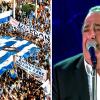 Ο Βασίλης Καρράς τραγουδά «Μακεδονία Ξακουστή» οι Θεσσαλονικείς τον αποθεώνουν(ΒΙΝΤΕΟ)