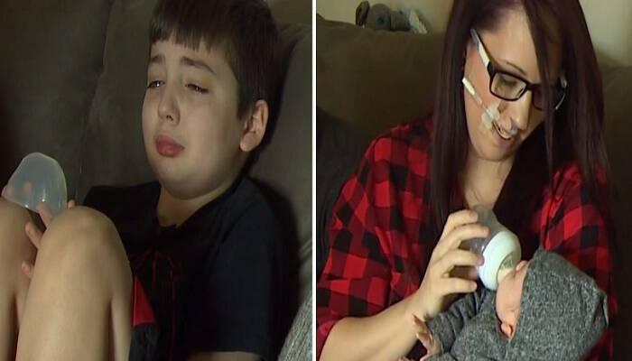Άρπαξε τη Μαμά του και Κλαίγοντας της είπε να μπει στο Αυτοκίνητο. Μόλις εκείνη κατάλαβε τον Λόγο, την έπιασε Τρόμος…