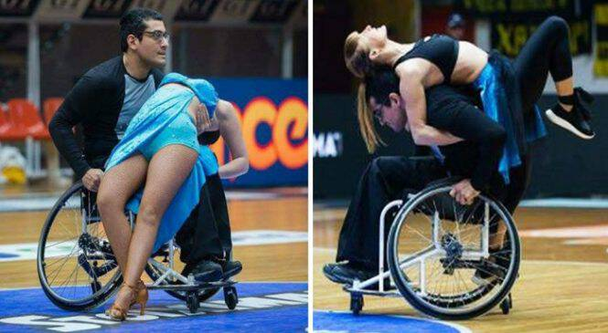 Πάτρα: Χόρεψε με την ψυχή του και το αναπηρικό του αμαξίδιο σε ημίχρονο αγώνα και ξεσήκωσε ένα ολόκληρο γήπεδο