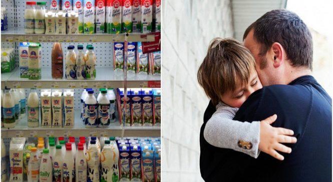 Βόλος: Συνελήφθη άνεργος πατέρας επειδή έκλεψε δύο κουτιά γάλα για το παιδί του παραμονή Πρωτοχρονιάς
