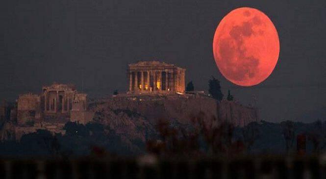 Μπλε, ματωμένη και σούπερ σελήνη -Το εντυπωσιακό φεγγάρι σε εικόνες απ' όλο τον κόσμο (εικόνες)
