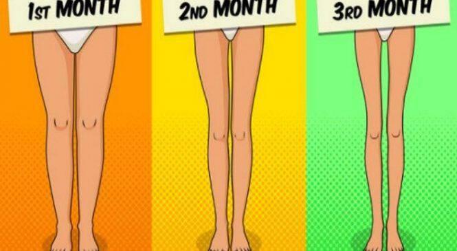 Δοκιμάστε αυτές τις απλές ασκήσεις 3 λεπτά πριν ξαπλώσετε και δείτε τα πόδια σας ποιο αδύνατα από ποτέ!