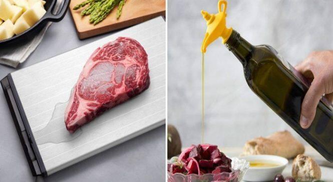 15 Πανέξυπνα εργαλεία Κουζίνας που μάλλον δεν σας Χρειάζονται αλλά μόλις τα δείτε θα Θελήσετε να τα Αποκτήσετε αμέσως!