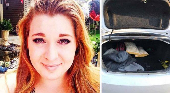 Είδε έναν Άντρα να Κλαίει έξω από ένα Βενζινάδικο. Μόλις Κοίταξε το Πορτμπαγκάζ του Αυτοκινήτου του, έπαθε το ΣΟΚ της Ζωή της!