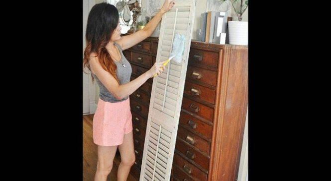 20 Πανέξυπνες Ιδέες για να Χρησιμοποιήσετε τα Παντζούρια παλαιού τύπου στην Διακόσμηση του Σπιτιού σας.