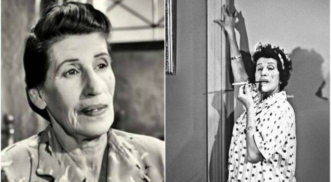 Σαν σήμερα πριν 38 χρόνια πεθαίνει η ηθοποιός Γεωργία Βασιλειάδου