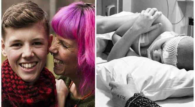 Μητέρα έδωσε κάνναβη στον ετοιμοθάνατο καρκινοπαθή γιο της για να τον ανακουφίσει από τον πόνο και του έσωσε τη ζωη
