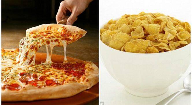 Η πίτσα είναι πιο υγιεινό πρωινό από ένα μπολ δημητριακά, λέει γνωστός διαιτολόγος