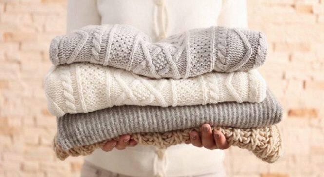Ένα εύκολο κόλπο για να επαναφέρεις το πουλόβερ που έχει μαζέψει στο πλυντήριο!