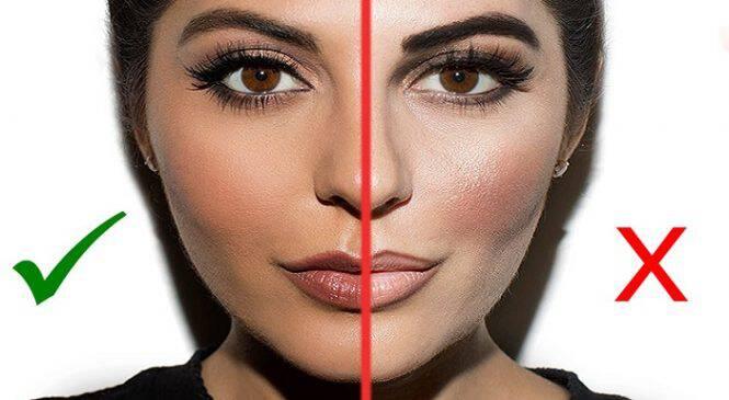 12 κοινά λάθη στο μακιγιάζ που σας κάνουν να φαίνεστε μεγαλύτερη