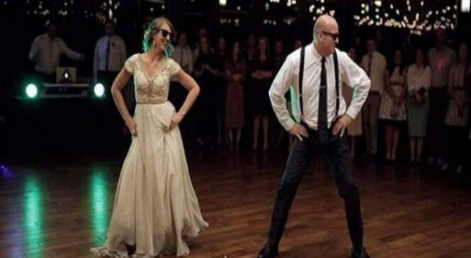 Με τέτοιο πεθερό δεν γλιτώνεις – Μπαμπάς και κόρη τα «σπάνε» στο γάμο (βίντεο)