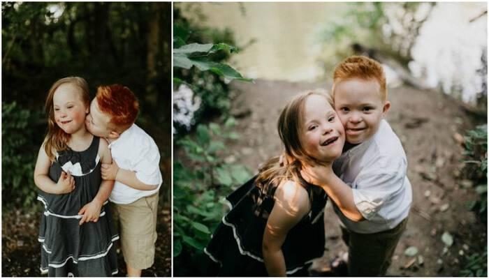 «Οι καρδιές μας είναι όλες ίδιες»: Δύο 7χρονα παιδιά με σύνδρομο Down φωτογραφίζονται και λιώνει η καρδιά μα