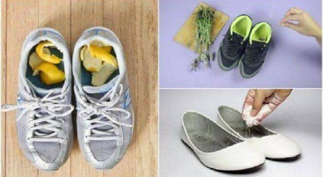 Πώς να αποτρέψετε τις άσχημες οσμές στα παπούτσια με 5 σπιτικές θεραπείες