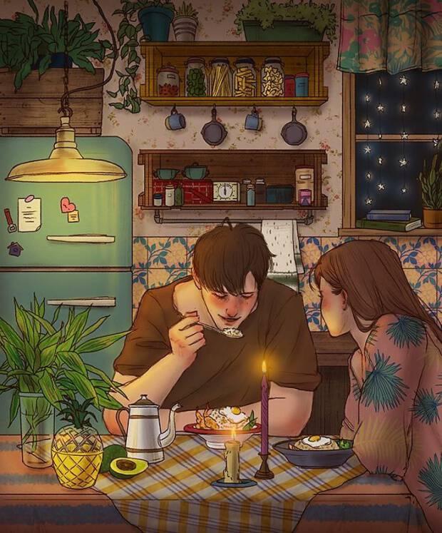 20 σκίτσα για τις στιγμές που δεν μετανιώνεις ποτέ σε μια σχέση