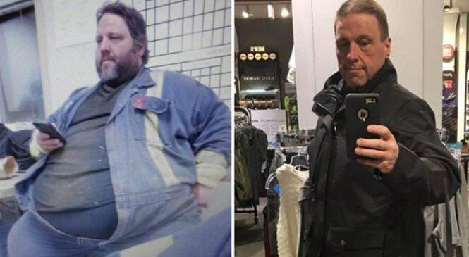 43χρονος έχασε 150 κιλά όταν κατάλαβε ότι χρειάζεται δύο θέσεις για να καθίσει στο λεωφορείο