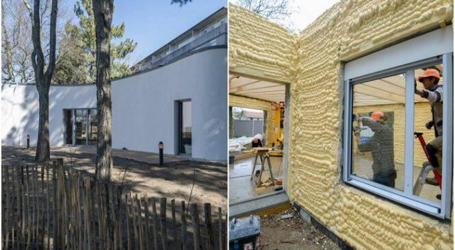 Αυτό το σπίτι το εκτύπωσαν – Θα πάθεις πλάκα με το εσωτερικό (ΒΙΝΤΕΟ)