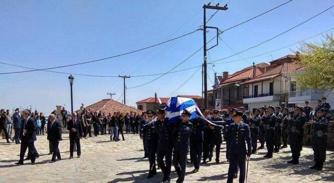 Γιώργος Μπαλταδώρος: Τελευταίο αντίο στον ήρωα Σμηναγό(ΦΩΤΟ-ΒΙΝΤΕΟ)