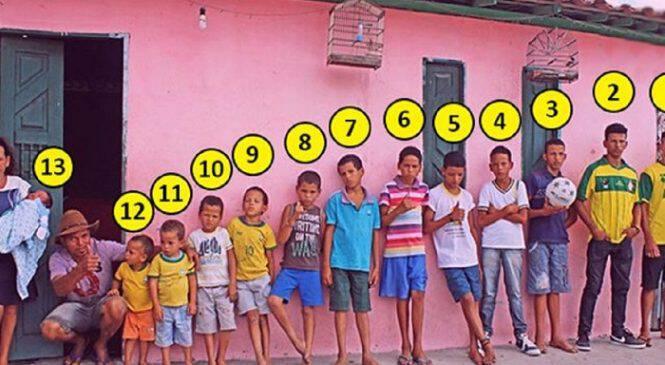 Ζευγάρι από τη Βραζιλία με 13 γιους λέει πως δεν θα σταματήσει να κάνει παιδιά μέχρι να αποκτήσει κόρη