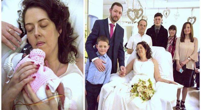 Καρκινοπαθής μητέρα άντεξε μέχρι να γεννήσει το μωρό της και λίγες μέρες μετά πέθανε στην αγκαλιά του άντρα της